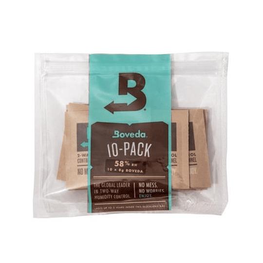 Boveda Size 8 58%/62% - 10 Pack