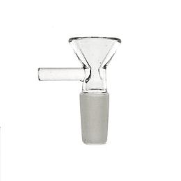 Quemador Macho Transparente  14mm