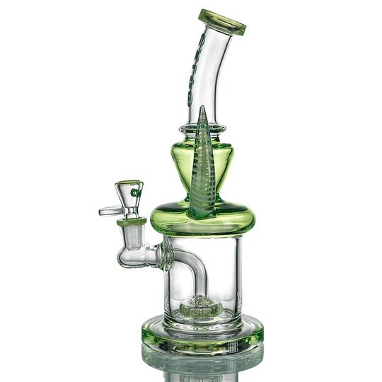 Calvo Glass Bong Doble Cuerno 28cm - Diferentes colores