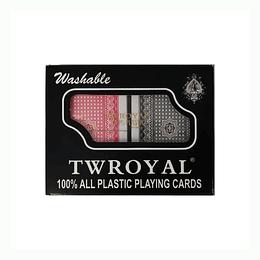 Naipe inglés TW Royal - 100% Plásticas Lavables