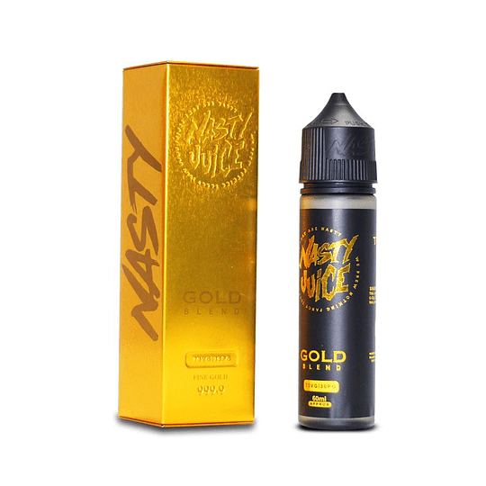 Nasty Juice Gold Blend 60ml - Tabaco
