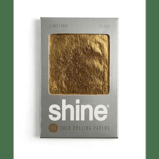 Shine® 24k Pack 2 papelillos