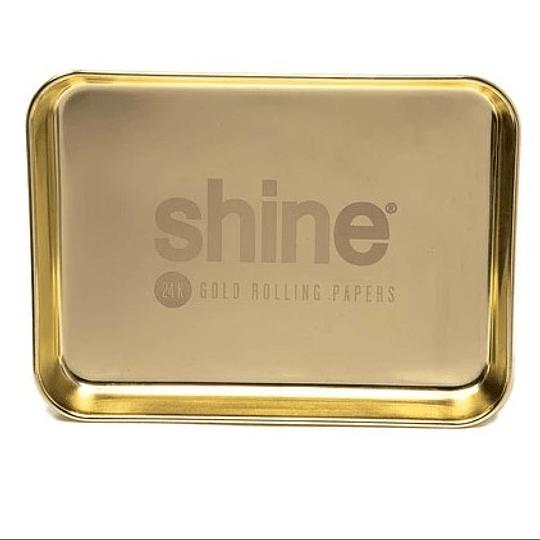 Shine® Gold Rolling Tray - Bandeja Mediana
