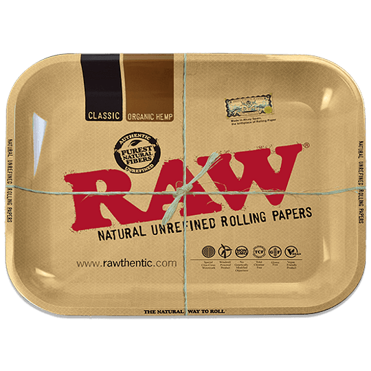 Bandeja RAW metálica Classic - Grande