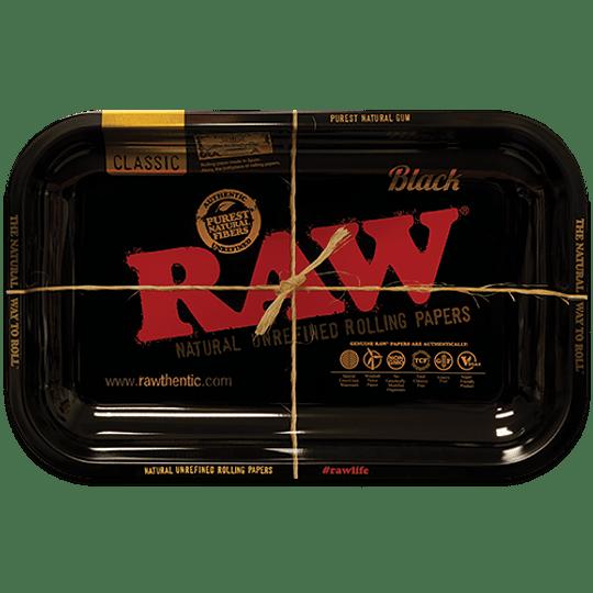 Bandeja RAW metálica Negra - Mediana