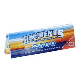 Papelillos Elements 1 ¼ classic con cierre magnético