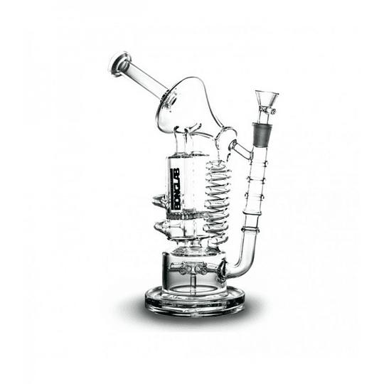 BongLab Bong Pyrex K306 Space Oddity Clear 28cm