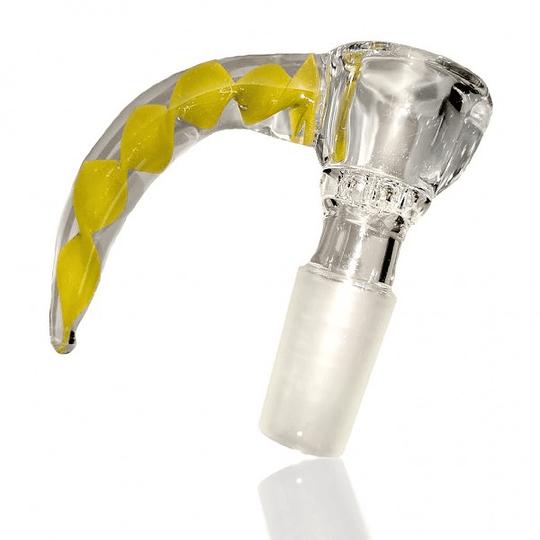 Calvo Glass Quemador cuerno - Macho 14mm