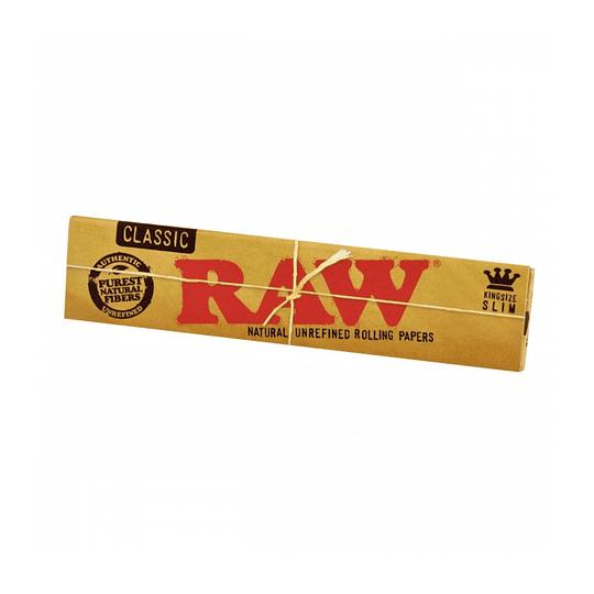 Papelillos RAW Classic King Size Slim - Sabanas