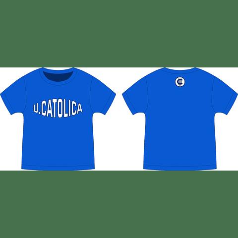 POLERA AZUL U. CATOLICA