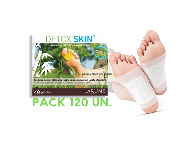 Detox'Skin Pack 10un.