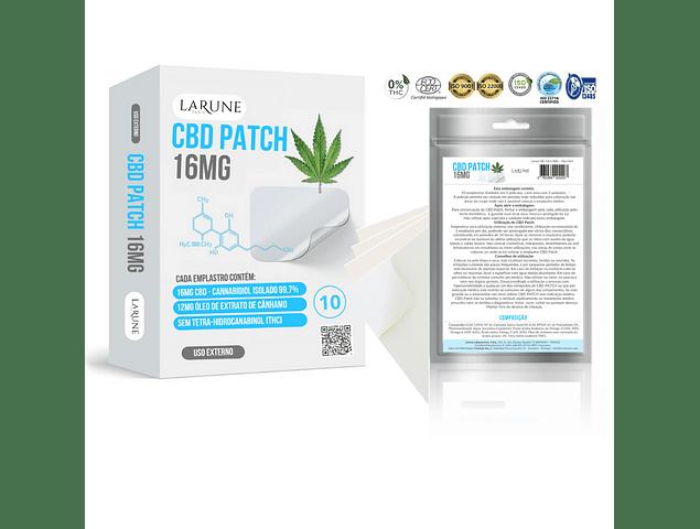 CBD Canabidiol 16MG - 10 Patch PharmaPack 24+12