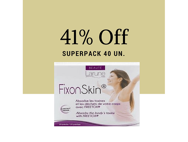 Fixonskin Superpack 40un - 41% Off