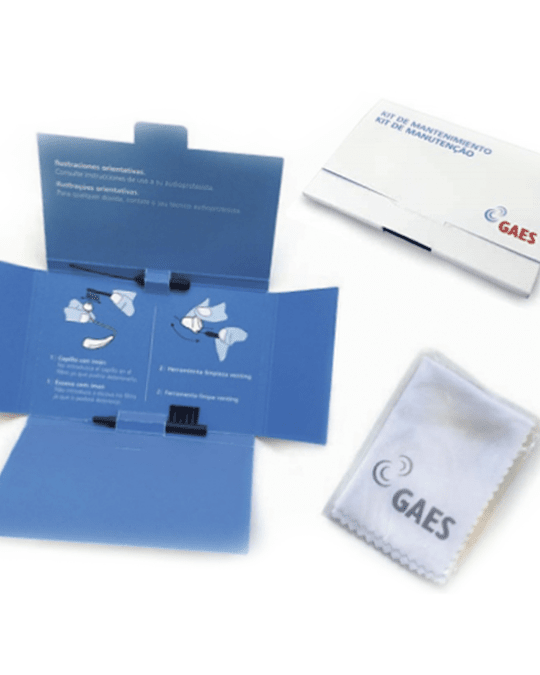 Kit de herramientas Gaes mantenimiento audífonos
