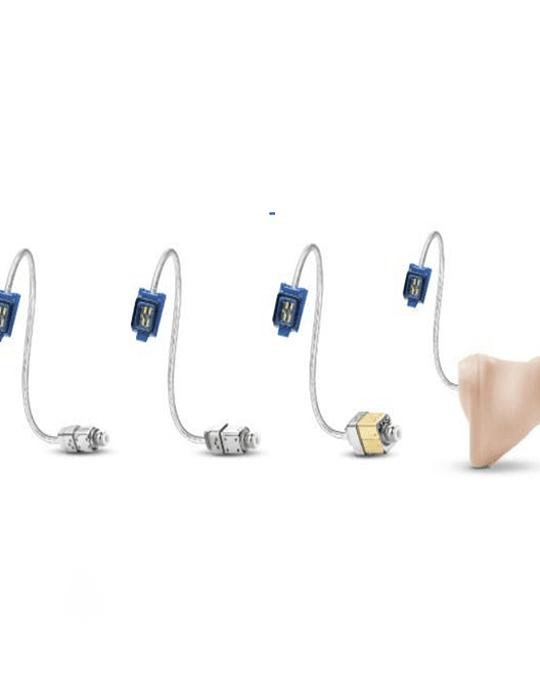 Tubo auricular con receptor de 60dB oído derecho