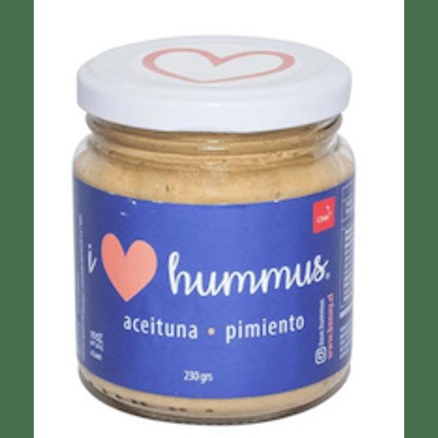 Hummus Aceituna - Pimiento 230 Gr