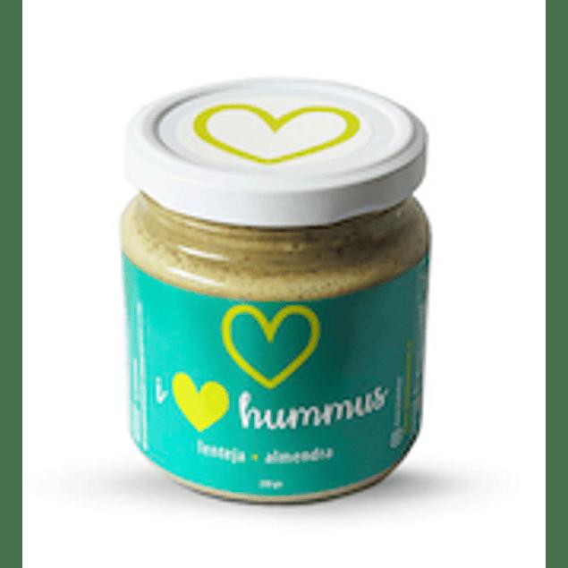 Hummus Lentejas - Almendras 230 Gr