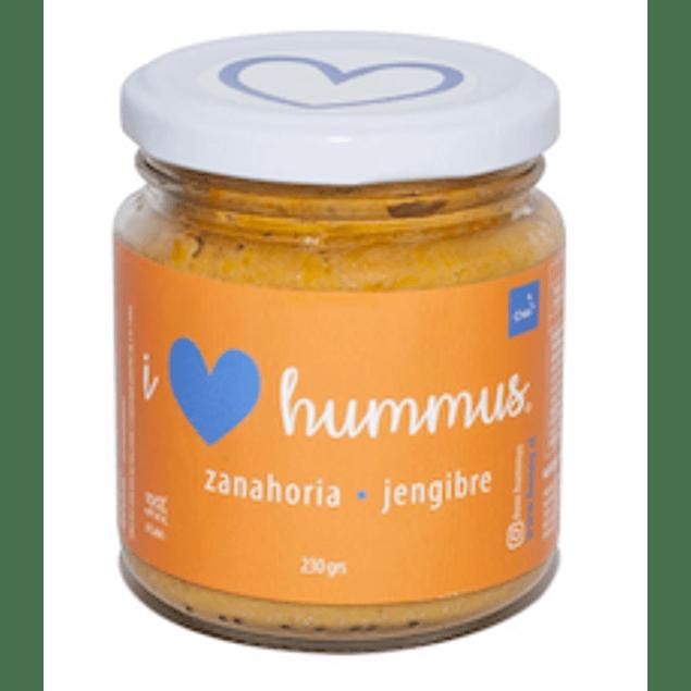 Hummus Zanahoria - Jengibre 230 Gr