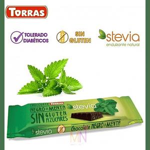 Chocolate negro con menta (35g)