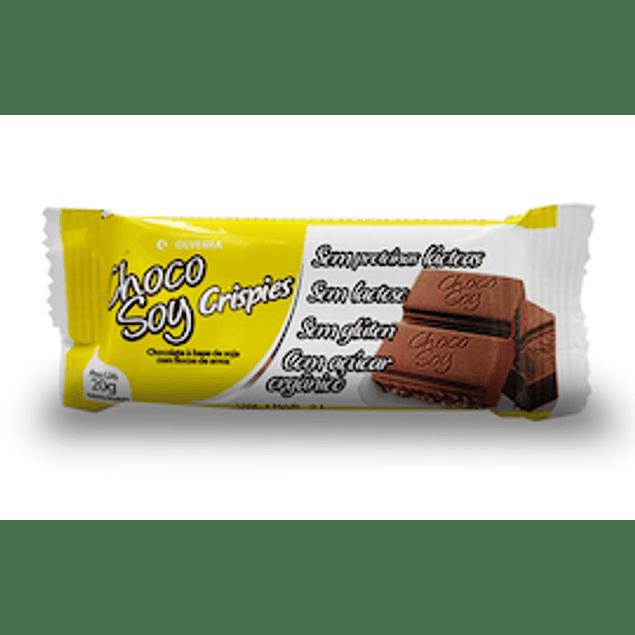 Choco Soy Crispies - sin Glúten 20 Gr