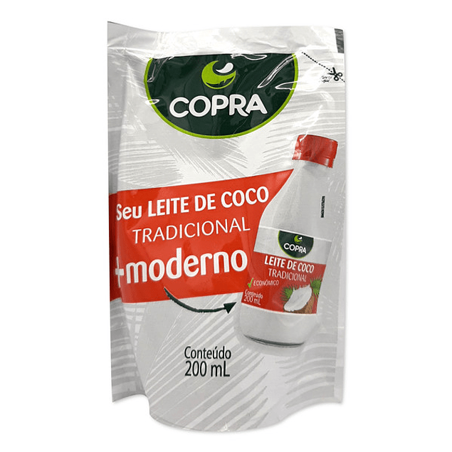 Leche de coco 200 Ml