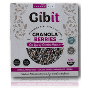 Granola Berries Gibit 300Gr