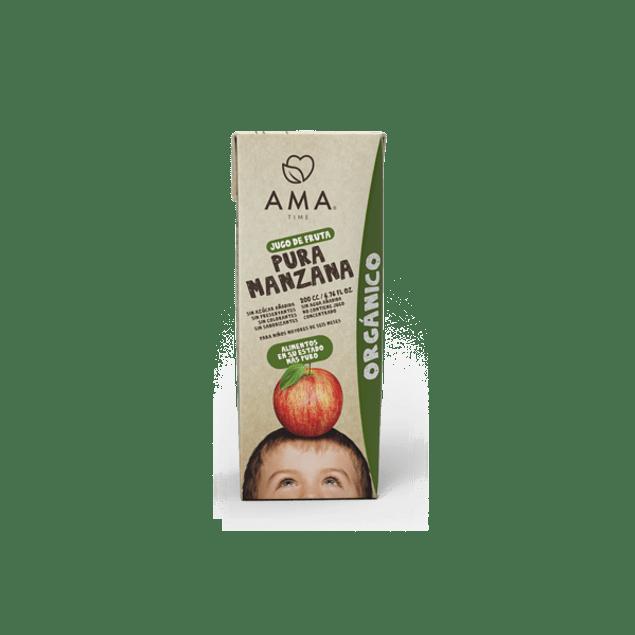 Jugo pura Manzana orgánico 200 MNl