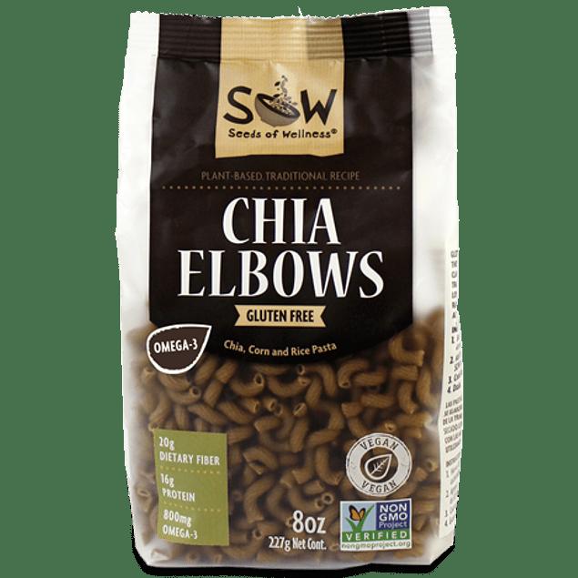 Elbows de chía