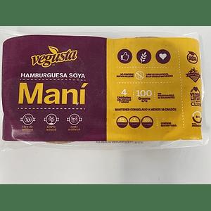 Pack 4 hamburguesas de Soya y Mani