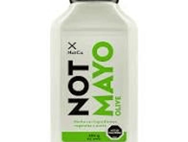 Mayonesa vegetal Not Mayo Olive 350 Gr