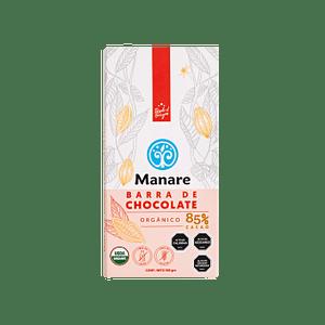 Barra de chocolate 85% cacao