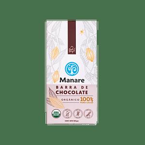 Barra de chocolate 100% cacao