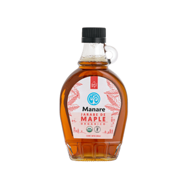 Jarabe de Maple Orgánico Manare 250 ml