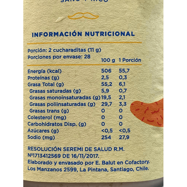 Mayonesa Vegana Pesto 300 gr