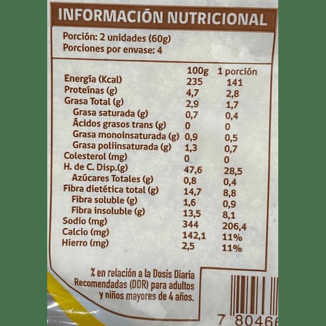 Tortillas taco de maíz 17 cm (8 unidades)