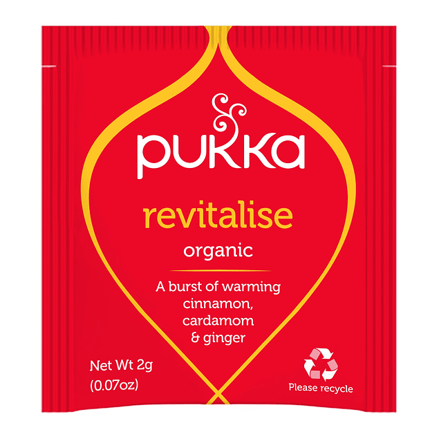 Pukka Infusión orgánica Revitalise