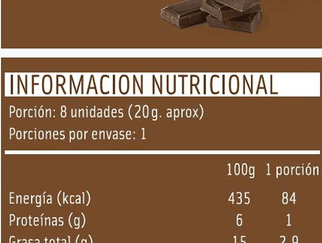 Galletas de arroz Mizos Chocolate 20 Gr