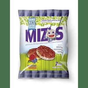 Galletas de arroz Mizos Arándanos 16 Gr