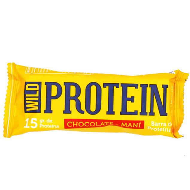Barritas Wild Protein Chocolate Maní 45 Grs