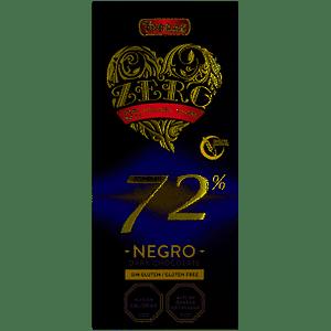 Chocolate negro Zero 72% Cacao (100g)