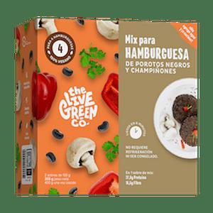 Green burguer Mix de Porotos y Champiñones 300 Gr