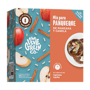 Mix de Panqueques de Manzana y Canela (Para 8 Unidades)