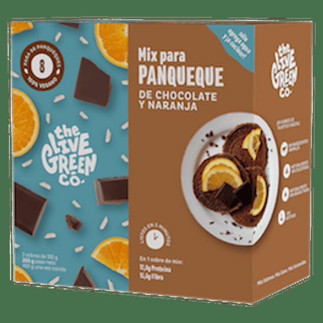Mix de Panqueques de Chocolate y Naranja (Para 8 Unidades)