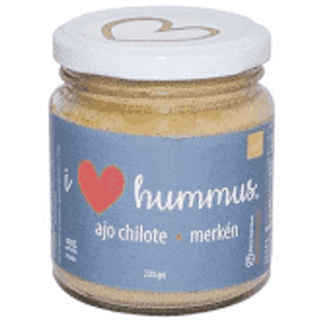 Hummus Ajo Chilote y Merkén 230 Gr