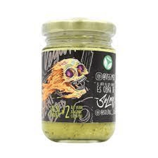 Salsa de ají verde, jengibre y cilantro 156 grs 🔥🔥🔥