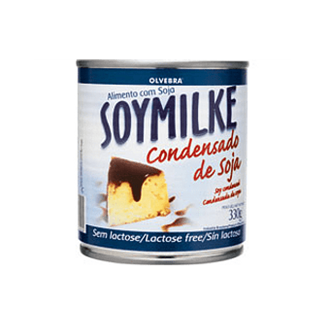 Leche condensada de soya