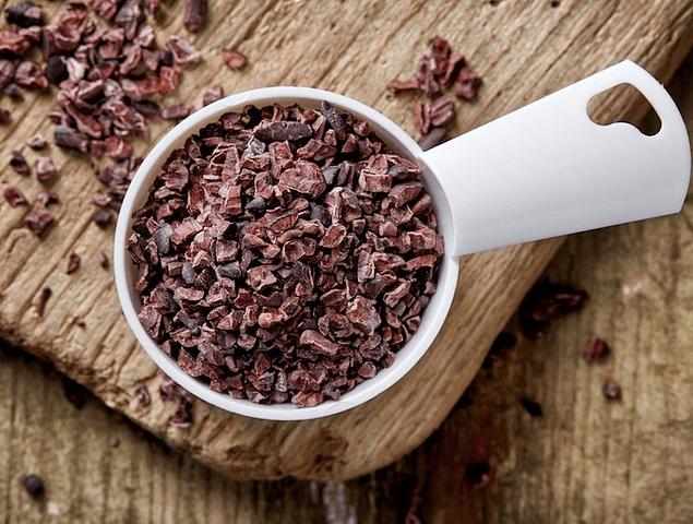 Raw cacao nibs a granel