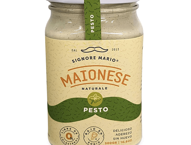 Mayonesa Vegana Pesto 300 gr