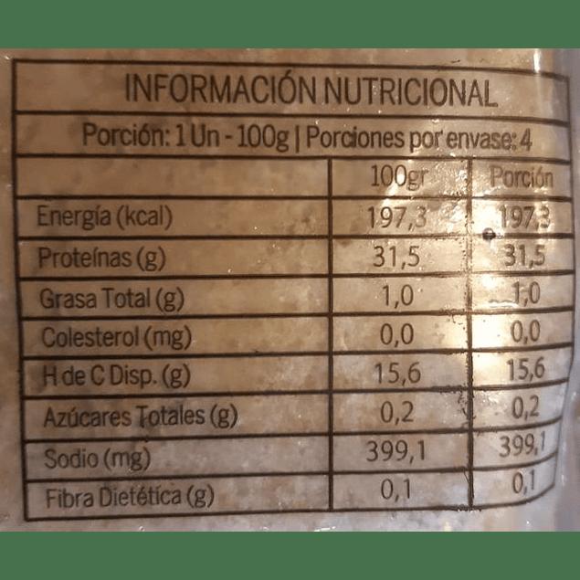 Pack 4 hamburguesas de Seitan Vegusta