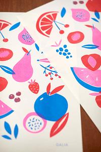Print Frutas